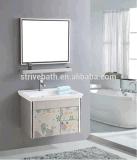 Do banheiro rápido do gabinete do aço inoxidável da venda vaidade moderna do banheiro combinado (LZ-5685)