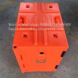 60L LLDPE recipiente de entrega de comida rápida de plástico, caixa de Entrega de Motos