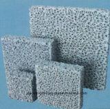 Filtro di ceramica dalla gomma piuma di Sic di qualità eccellente per il ghisa