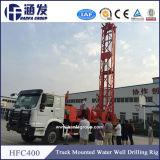 La plus défunte plate-forme de forage Camion-Montée par Hfc-400 de puits d'eau de produit