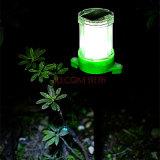 Luz branca Lâmpada de relva sem luz solar Pole