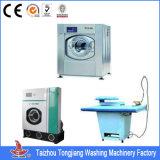 Equipo de lavadero del hotel (ropa, guantes, camisetas, pantalones, ropa, tela, lino, lavadora del bedsheet)