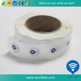 de Sticker van de Druk NFC van de Douane 13.56MHz Ntag213