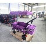 Carro plegable plegable al aire libre del carro que acampa con el pabellón