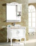 Module de salle de bains fixé au sol s'arrêtant de PVC avec le bassin simple