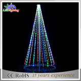 休日のモチーフの屋外の装飾LEDストリングクリスマスツリーライト