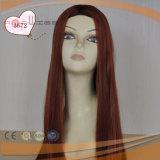 빨간색 Stright 긴 머리 가발 (TP005)