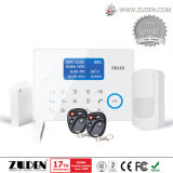 Allarme domestico intelligente di obbligazione dello scassinatore della doppia rete dello PSTN e di GSM con il protocollo di Cid