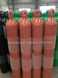 35L de oxigênio argônio perfeita de alta pressão do cilindro de aço de azoto