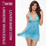 Lingerie de nuit Ladies Nighty Sleeping Wear (L27991)