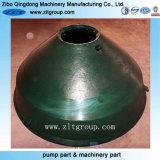 Haltbare Mangan-Stahlgußteil-konkave Zerkleinerungsmaschine-Teile