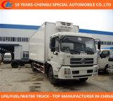 DFAC 4X2 de Vrachtwagen van de Ijskast van Thermoking van 15 Ton voor Bevroren Vissen