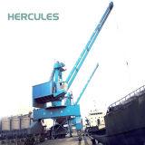 El puerto de carga y descarga de la grúa del puerto de pedestal Offshore