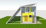 7.5Kw solar e a Estação de Energia do gerador híbrido diesel