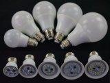 Luz de bulbo de la fábrica LED de China con 3 años de garantía