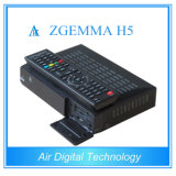 IPTV Support Kodi Hevc/H. 265 Zgemma H5를 가진 Box 지능적인 DVB S2 DVB T2 DVB C