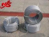 Emballage galvanisé de bobine de la corde 6X24+7FC de fil d'acier