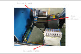 Hohe genaue vertikale Bildschirm-Drucken-Maschine für Kurbelgehäuse-Belüftung, Plastikfolie u. synthetischen Plastik