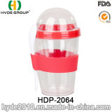 Eco-Friendly Double Wall Plastic Salad Shaker Cup (HDP-2064)