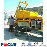 De verplichte Draagbare Grote Concrete Mixer van de Capaciteit met Pomp