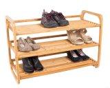 أنيقة عمليّة [3-تير] خيزرانيّ حذاء من