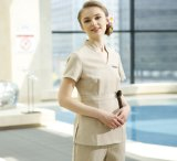 Uniforme uniforme del custode della Camera della cameriera di bar dell'hotel su ordine di alta qualità