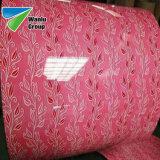Prepainted Gi стали с полимерным покрытием RAL3019 Ral 9020 PPGI цвет сталь катушек зажигания