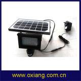Appareil-photo solaire de lumière de détecteur de la charge PIR de voie du support 2