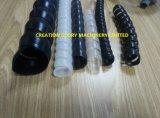 Máquina de extrudado plástica para producir el protector espiral del manguito
