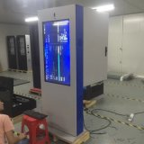 Dissipation thermique Climatiseur-Refroidie Étage-Type étalage interactif extérieur de 55 pouces