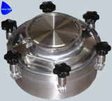 Крышка люка -лаза бака для хранения нержавеющей стали химически