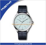 Het eenvoudige Zwitserse Horloge van de Versie met de Prijs van de Horloges van het Platina van Strsp Genève van het Leer