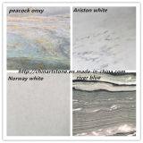 Bianco cinese/mattonelle nere del marmo della natura per il pavimento ed i punti