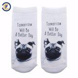Kundenspezifische Polyester Elastane Socken des Drucken-3D