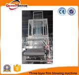 Mehrzwecktasche Winkel- des Leistungshebelsbiodegradierbarer Plastik 3 Schicht-Film-durchbrennenmaschine
