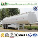 Di Shengrun del combustibile dell'autocisterna di serbatoio del camion rimorchio pratico semi