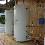 Pipe popular compacto de calor del tubo de vacío a presión calentador de agua solar