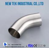 衛生バットによって溶接される肘180程度リターンSS304ステンレス鋼