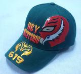 Gorra de béisbol de los 6 paneles con 3D la insignia Bb208