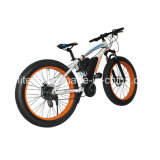 26インチのの高さのQyality 500WのEバイクのディスクブレーキ電気自転車のリチウム電池のブラシレス雪のバイク