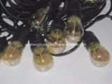 17 im Freien wetterfeste Handelsgüte-Zeichenkette-Lichter der Birnen-LED
