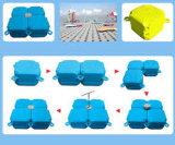 Máquina plástica del moldeo por insuflación de aire comprimido de la protuberancia el pontón de flotación del HDPE