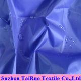 Tela 100% del tafetán del poliester con impermeable para la tela del impermeable