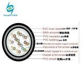 Tableau de fil de cuivre isolés de PVC 12 Core 12 Câble de commande de jauge