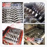 La plastica di schiacciamento residua della trinciatrice dell'asta cilindrica della macchina della plastica ricicla