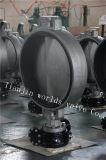 Tipo valvola a farfalla della cialda dell'acciaio inossidabile di CF3m con l'iso Wras del Ce approvato (CBF01-TA01)