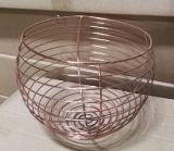 Cesta de fruta inoxidable del acoplamiento del almacenaje del baño del alambre de metal