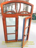 Solid Wood Aluminum Insulation Knell Tilt and Turn Window