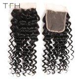 Venda por grosso de pêlos de Ondas profundas tecem 9um malaio de cabelo humano