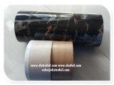 Foglio per l'impressione a caldo caldo del marmo del Faux del fornitore della Cina per il PVC, mobilia di legno